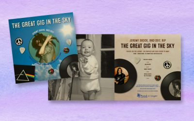 The Great Gig in the Sky Tribute Concert Programme